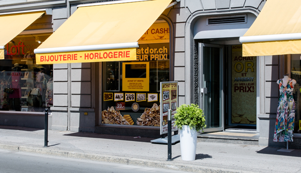 Goldkaufgeschäft Montreux Waadt
