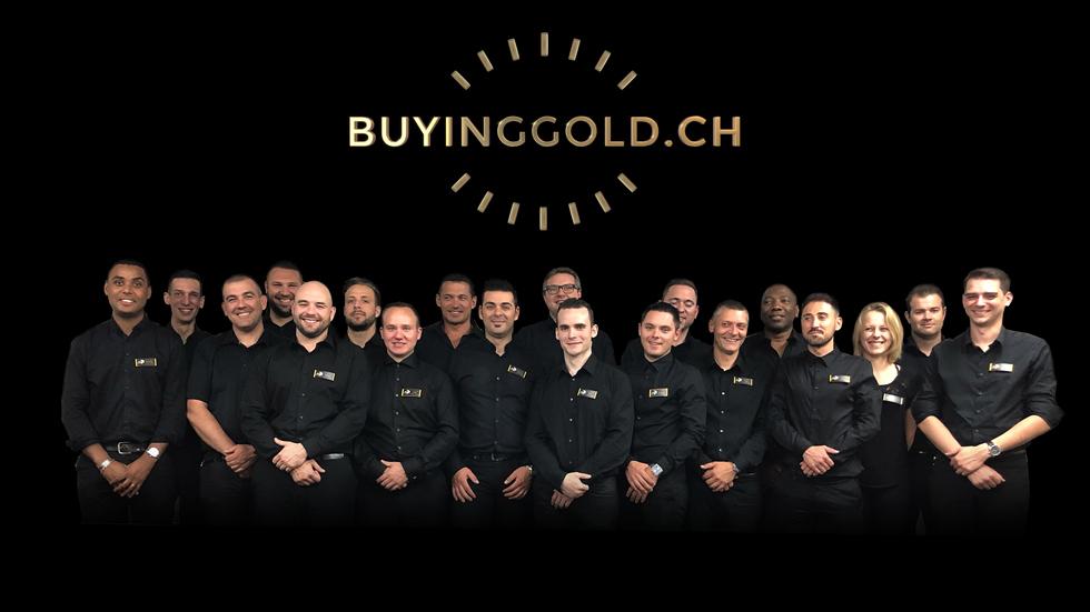 Das Team von buyinggold.ch