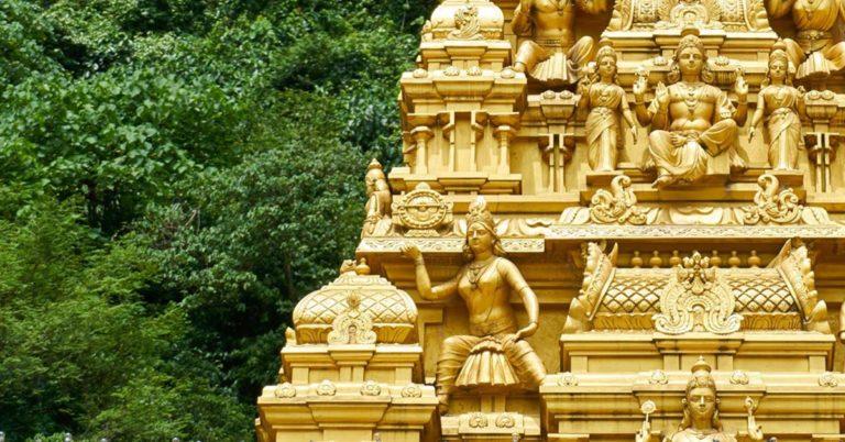 goldene Statue