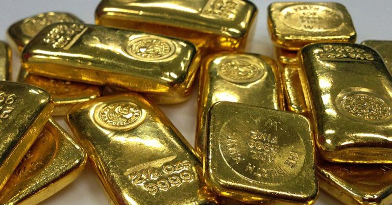 Der Goldstandard, als die Finanzen unter dem Einfluss von Gold standen