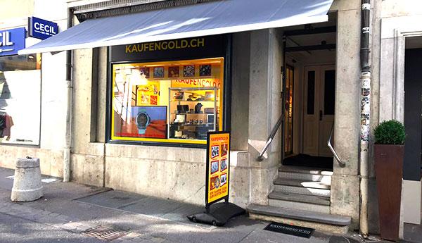 Goldkaufgeschäft Solothurn